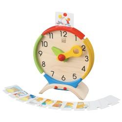 Reloj de actividades Plan Toys