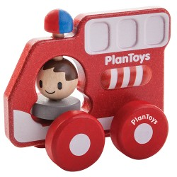 Camión de bomberos Plan Toys