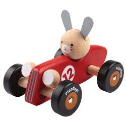 """Coche de carreras """"conejo"""" Plan Toys"""