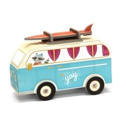 Fold My car, Hippie Van de Krooom