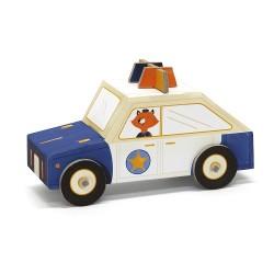 Fold My car, coche de policia de Krooom