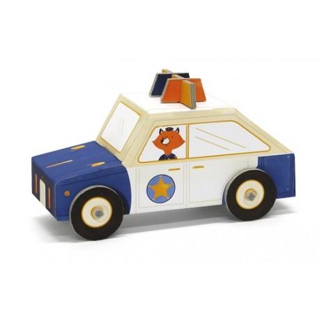 Fold My car, cotxe de policia de Krooom