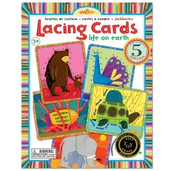Lacing Cards Animals simpàtics de EeBoo