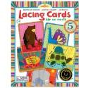 Lacing Cards Animals simpàtics de EeBoo